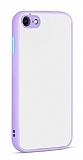 Eiroo Soft Touch iPhone 7 / 8 Ultra Koruma Lila Kılıf