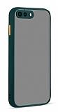 Eiroo Soft Touch iPhone 7 Plus / 8 Plus Ultra Koruma Yeşil Kılıf