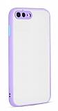 Eiroo Soft Touch iPhone 7 Plus / 8 Plus Ultra Koruma Lila Kılıf