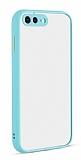 Eiroo Soft Touch iPhone 7 Plus / 8 Plus Ultra Koruma Turkuaz Kılıf