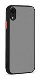 Eiroo Soft Touch iPhone XR Ultra Koruma Siyah Kılıf