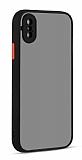Eiroo Soft Touch iPhone XS Max Ultra Koruma Siyah Kılıf