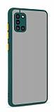 Eiroo Soft Touch Samsung Galaxy A31 Ultra Koruma Yeşil Kılıf