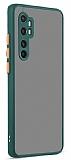 Eiroo Soft Touch Xiaomi Mi Note 10 Lite Ultra Koruma Yeşil Kılıf