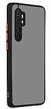 Eiroo Soft Touch Xiaomi Mi Note 10 Lite Ultra Koruma Siyah Kılıf