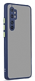 Eiroo Soft Touch Xiaomi Mi Note 10 Lite Ultra Koruma Lacivert Kılıf