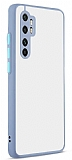 Eiroo Soft Touch Xiaomi Mi Note 10 Lite Ultra Koruma Mor Kılıf
