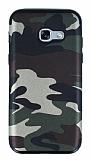 Eiroo Soldier Samsung Galaxy A5 2017 Yeşil Silikon Kılıf