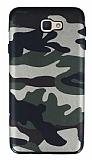 Eiroo Soldier Samsung Galaxy J7 Prime / J7 Prime 2 Silikon Yeşil Kılıf