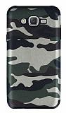 Eiroo Soldier Samsung Galaxy J7 / Galaxy J7 Core Yeşil Silikon Kılıf
