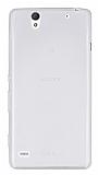 Sony Xperia C4 Ultra İnce Şeffaf Silikon Kılıf