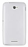 Sony Xperia E4 Ultra İnce Şeffaf Silikon Kılıf