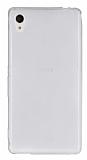 Sony Xperia M4 Aqua Ultra İnce Şeffaf Silikon Kılıf