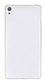 Eiroo Sony Xperia XA Ultra Süper İnce Şeffaf Silikon Kılıf