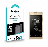 Eiroo Sony Xperia XA1 Plus Tempered Glass Cam Ekran Koruyucu
