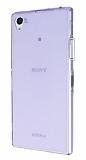 Eiroo Sony Xperia Z1 Ultra �nce �effaf Mor Silikon K�l�f