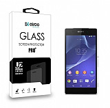 Eiroo Sony Xperia Z2 Tempered Glass Cam Ekran Koruyucu