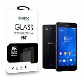 Eiroo Sony Xperia Z3 Compact Ön + Arka Tempered Glass Cam Ekran Koruyucu