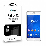 Eiroo Sony Xperia Z3 Tempered Glass Cam Ekran Koruyucu