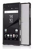 Eiroo Sony Xperia Z5 Premium Metal Bumper Çerçeve Siyah Kılıf
