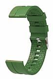 Eiroo Sport Samsung Galaxy Watch 46 mm Yeşil Silikon Kordon