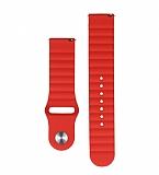 Eiroo Sport2 Xiaomi Mi Watch Color Sports Kırmızı Silikon Kordon