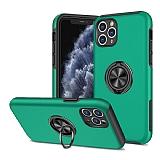 Eiroo Stand Hybrid iPhone 11 Pro Yeşil Silikon Kılıf