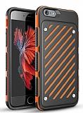 Eiroo Steel Armor iPhone 6 / 6S Ultra Koruma Turuncu Kılıf