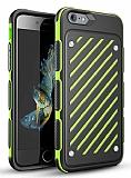 Eiroo Steel Armor iPhone 6 Plus / 6S Plus Ultra Koruma Yeşil Kılıf