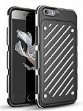 Eiroo Steel Armor iPhone 6 Plus / 6S Plus Ultra Koruma Beyaz Kılıf