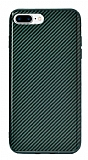 Eiroo Surface iPhone 7 Plus / 8 Plus Karbon Yeşil Silikon Kılıf