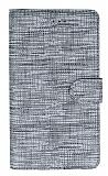 Eiroo Tabby Huawei Y6p Cüzdanlı Kapaklı Gümüş Deri Kılıf
