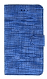 Eiroo Tabby Samsung Galaxy Note 10 Plus Mavi Cüzdanlı Kapaklı Deri Kılıf