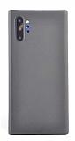 Eiroo Thin Samsung Galaxy Note 10 Plus Ultra İnce Siyah Rubber Kılıf