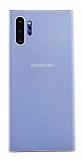 Eiroo Thin Samsung Galaxy Note 10 Plus Ultra İnce Beyaz Rubber Kılıf