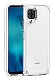 Eiroo Trace Huawei P40 Lite Şeffaf Silikon Kılıf