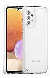 Eiroo Trace Samsung Galaxy A32 4G Şeffaf Silikon Kılıf