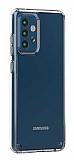 Eiroo Trace Samsung Galaxy A72 Şeffaf Silikon Kılıf