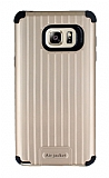 Eiroo Travel Samsung Galaxy Note 5 Ultra Koruma Gold Kılıf