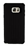Eiroo Travel Samsung Galaxy Note 5 Ultra Koruma Siyah Kılıf