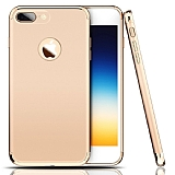 Eiroo Trio Fit iPhone 7 Plus / 8 Plus 3ü 1 Arada Gold Rubber Kılıf