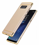 Eiroo Trio Fit Samsung Galaxy Note 8 3ü 1 Arada Gold Rubber Kılıf