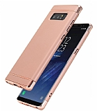 Eiroo Trio Fit Samsung Galaxy Note 8 3ü 1 Arada Rose Gold Rubber Kılıf