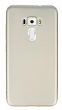 Asus ZenFone 3 ZE552KL Mat Gold Silikon Kılıf