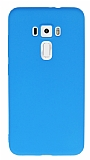 Eiroo Ultra Thin Asus ZenFone 3 ZE552KL Mavi Silikon Kılıf