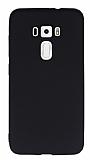 Asus ZenFone 3 ZE552KL Mat Siyah Silikon Kılıf