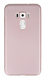 Eiroo Ultra Thin Asus ZenFone 3 ZE552KL Rose Gold Silikon Kılıf
