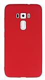 Asus ZenFone 3 ZE552KL Mat Kırmızı Silikon Kılıf