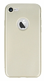 Eiroo Ultra Thin iPhone 7 Gold Silikon K�l�f