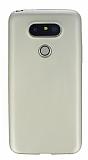 LG G5 Mat Gold Silikon Kılıf